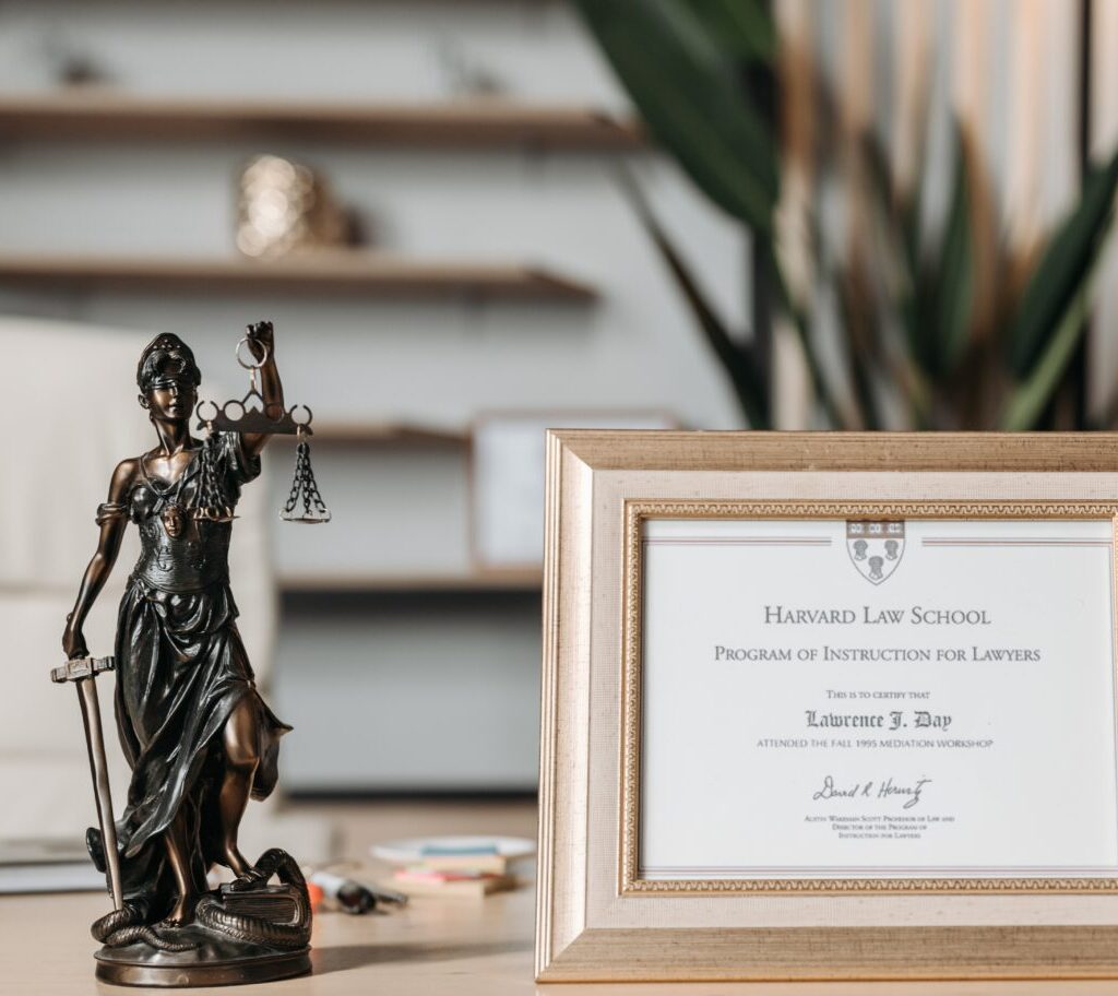 Adding accessories can gain visible decor change when branding your law office.