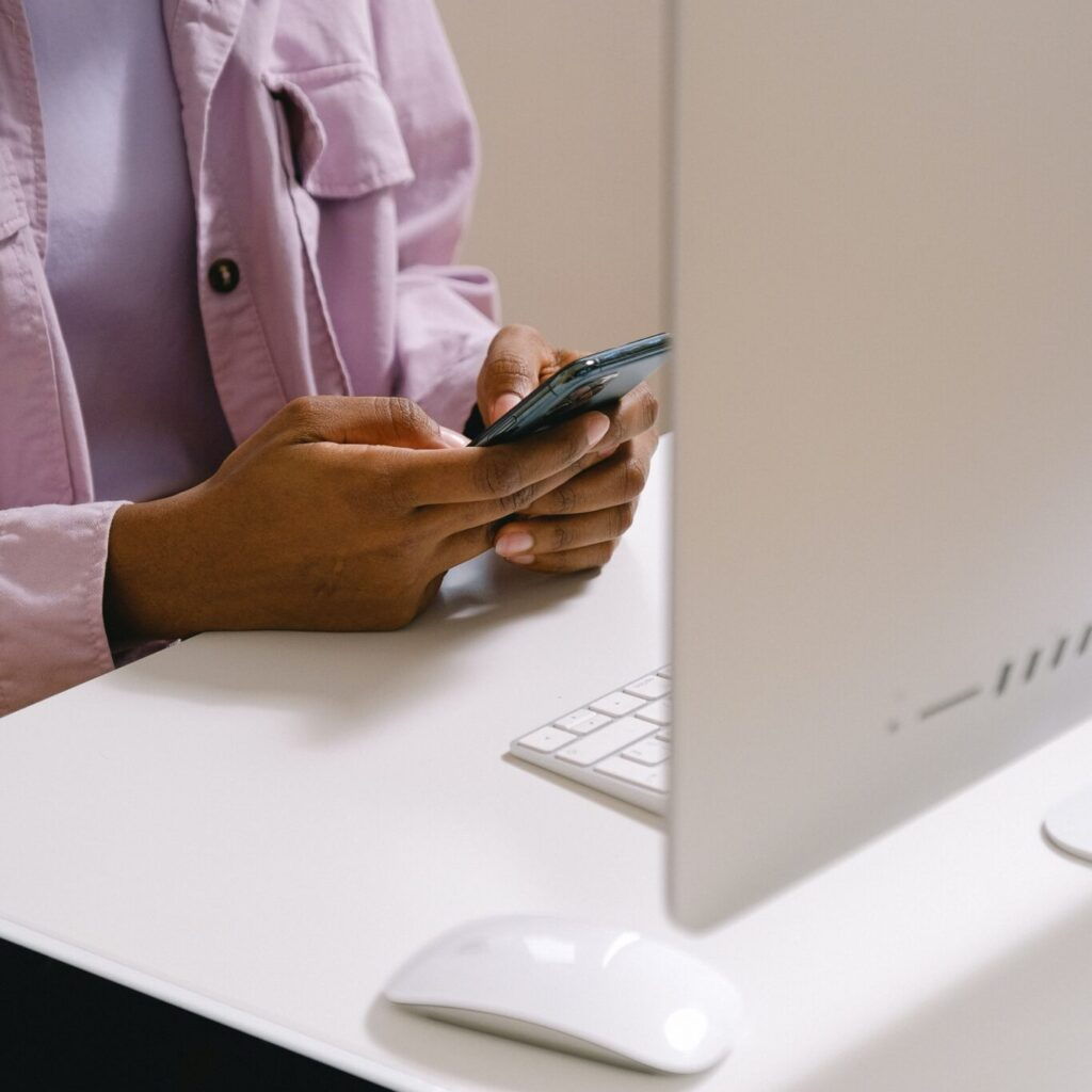 Reaching your customers via text message is one way to collect more customer reviews.